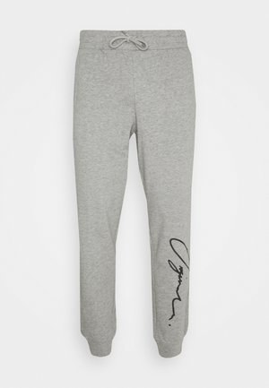JORSCRIPTT PANTS  - Tracksuit bottoms - light grey melange