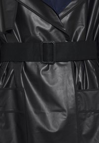 Proenza Schouler White Label - BELTED COAT 2-IN-1 - Impermeabile - dark grey - 2