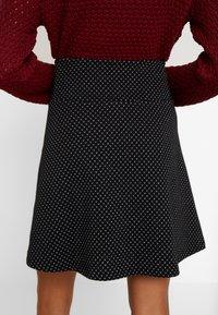 edc by Esprit - FLARED SKIRT - Mini skirt - black - 4