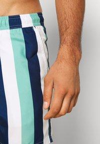 Burton Menswear London - VERTICAL STRIPE - Plavky - mint/white - 3