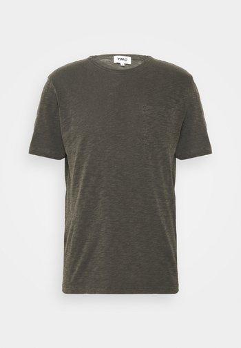 WILD ONES POCKET - T-shirt basique - dark olive