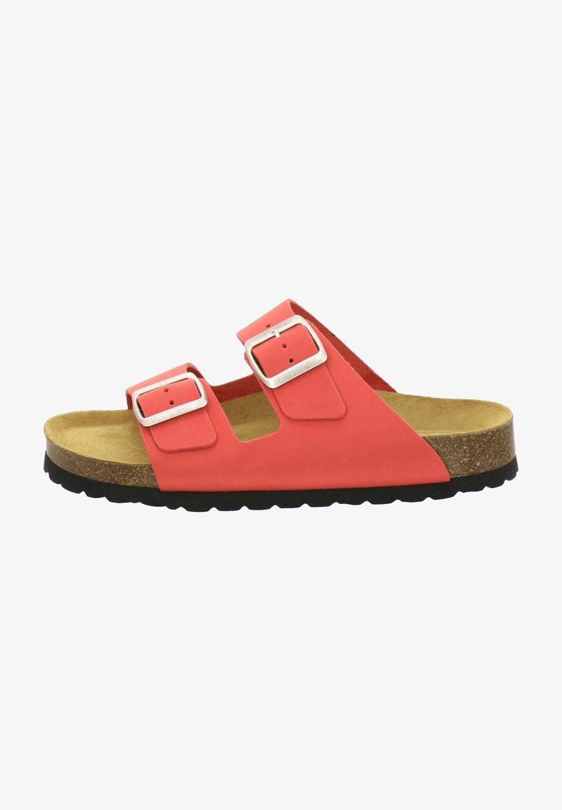 AFS Schuhe - ZWEISCHNALLER - Slippers - kirsche