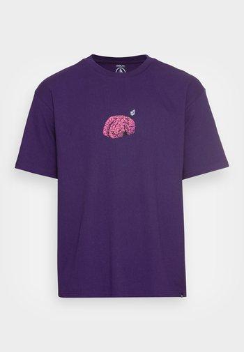 MINDBOTTLE  - T-shirt med print - violet indigo