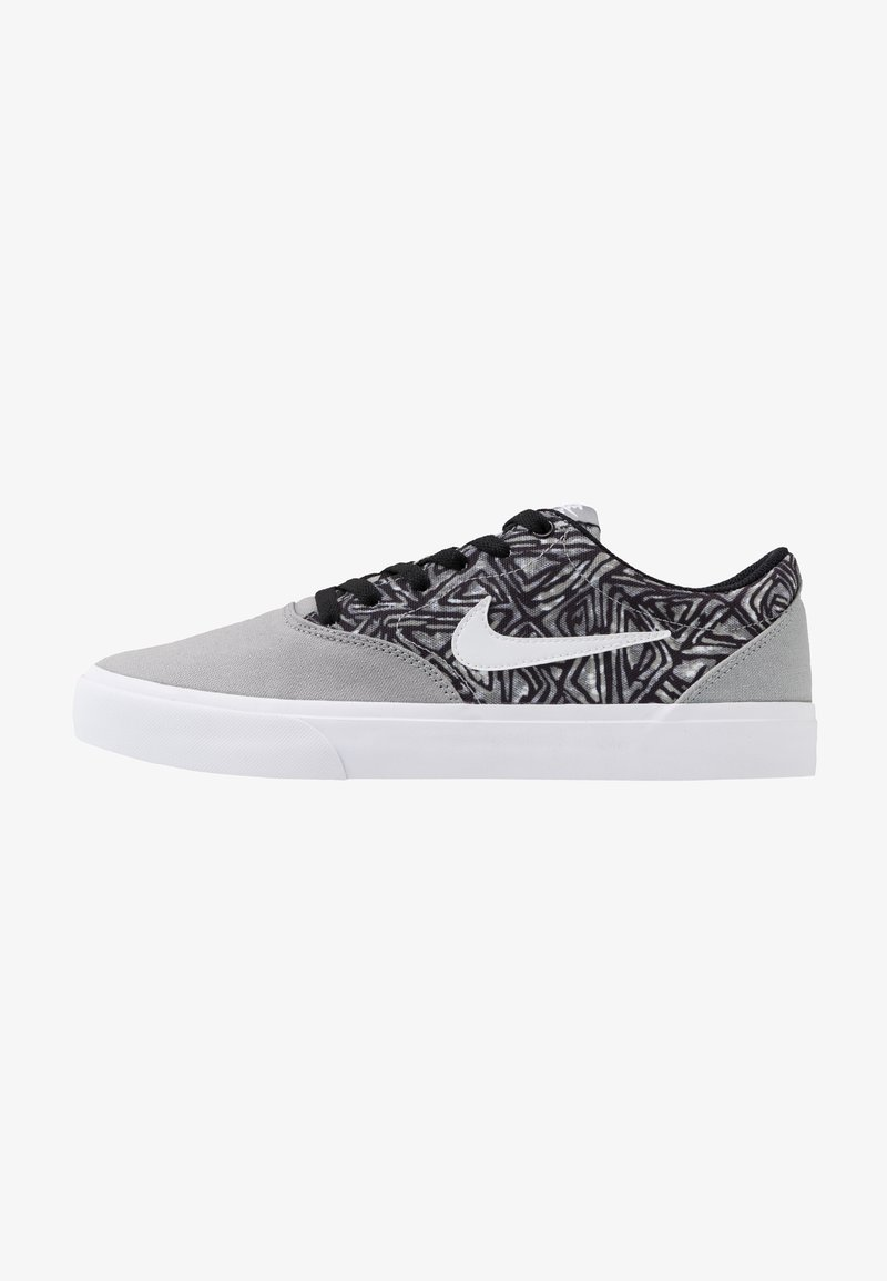 Nike SB - CHARGE SLR - Sneakers laag - particle grey/white/black