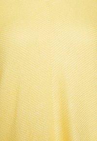 TOM TAILOR - BATWING CHEVRON - Svetr - honey popcorn - 2