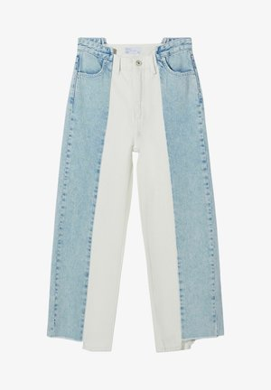 TWO-TONE STRAIGHT FIT JEANS 00073969 - Straight leg jeans - blue
