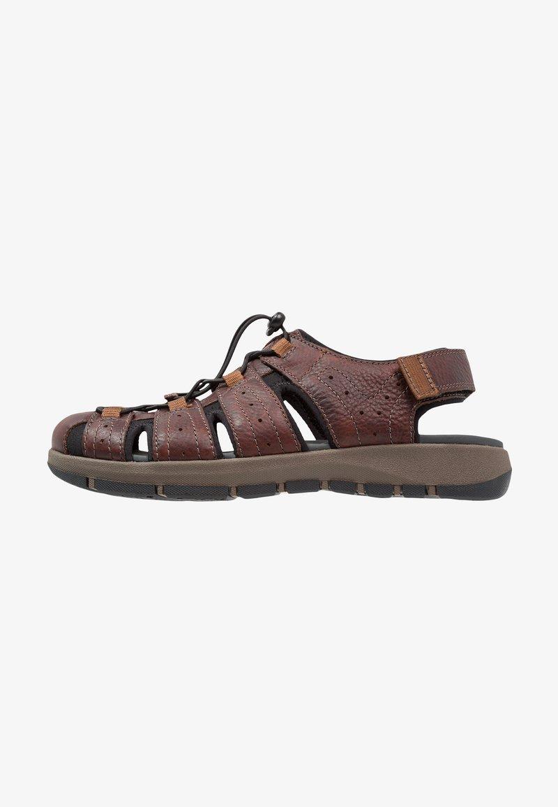 Clarks - BRIXBY COVE - Sandales de randonnée - dark brown