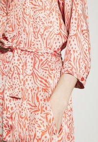 Expresso - DELPHINE - Shirt dress - coral - 5