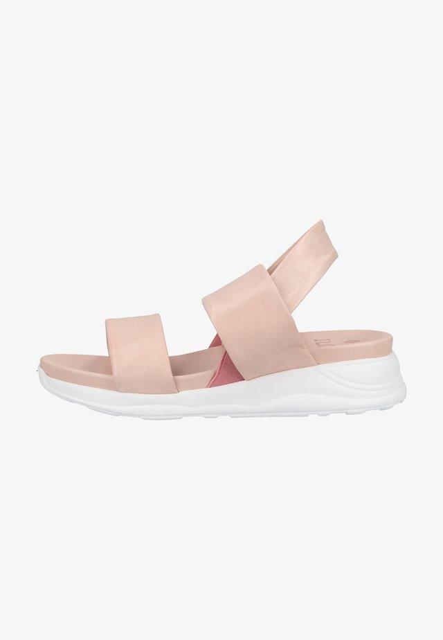 Sandales compensées - powder