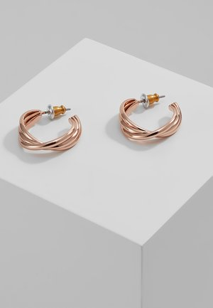 EARRINGS JENIFER - Earrings - rosegold-coloured