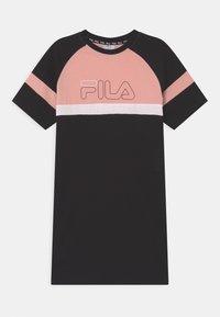 Fila - JUMA  - Vestido ligero - black/coral cloud/bright white - 0