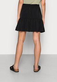 Lindex - SKIRT HILDA - Mini skirt - black - 2