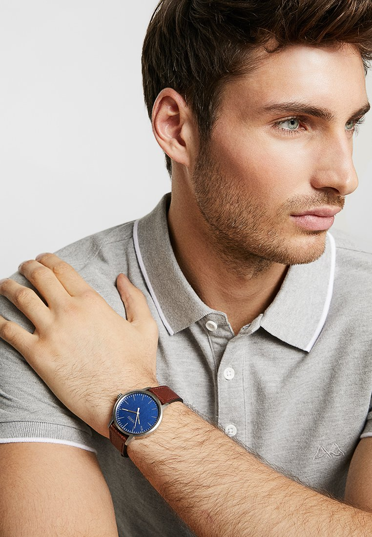 HUGO - STAND - Watch - brown