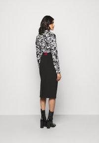 HUGO - NESSICA - Pouzdrová sukně - black - 2