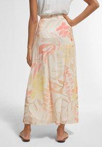 comma - BEDRUCKTER - A-line skirt - coral leaf - 2