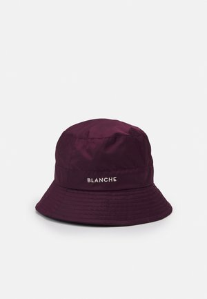 BUCKET HAT - Klobouk - bordeux