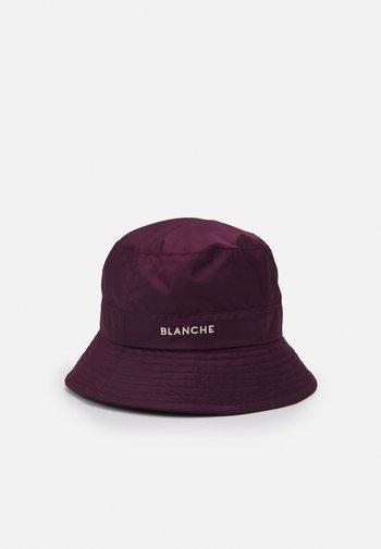 BUCKET HAT - Klobouk - bordeux