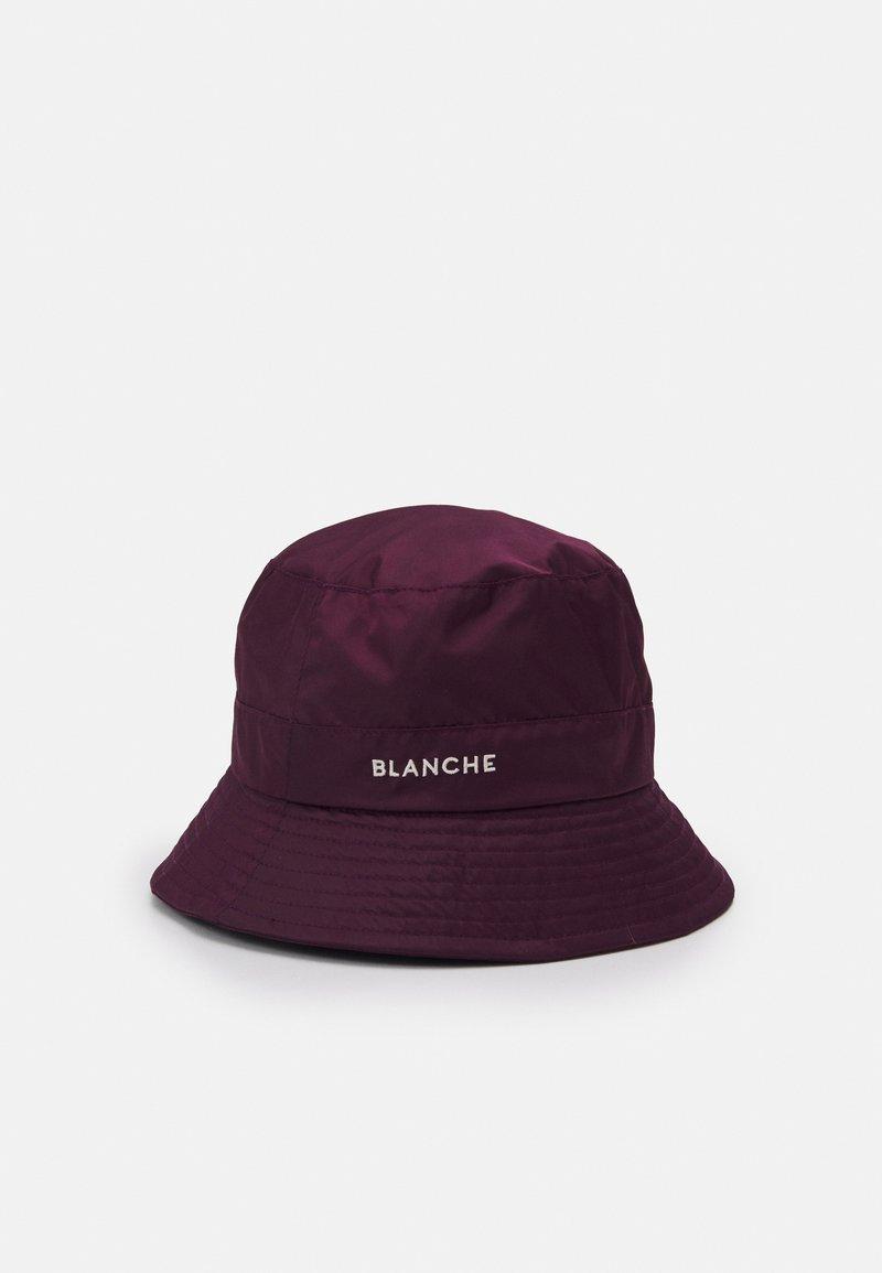 BLANCHE - BUCKET HAT - Klobouk - bordeux