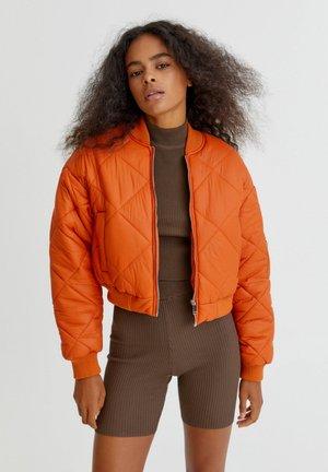 Bomberjacke - orange
