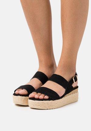 COMFORT - Loafers - black