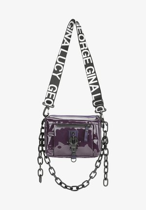 THE DROPS  - Across body bag - metalici grape