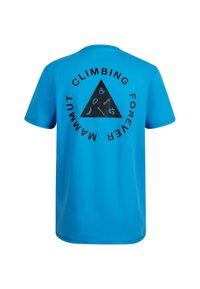 Mammut - MASSONE MEN - T-shirt z nadrukiem - gentian prt - 3