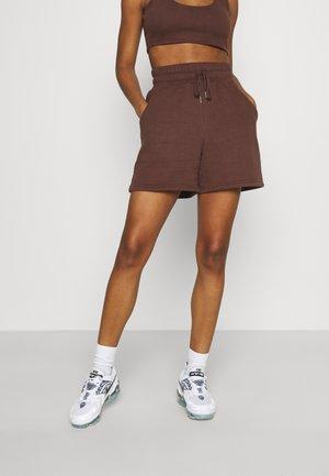 DRAWSTRING - Shorts - chocolate