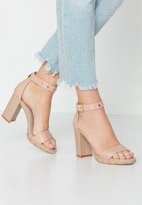 KIOMI - High heeled sandals - nude - 0