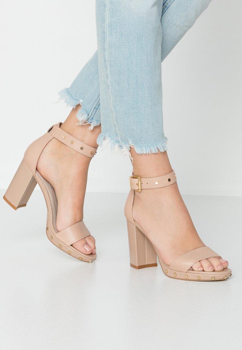KIOMI - High heeled sandals - nude