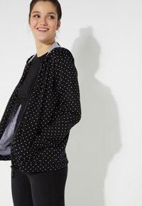 Tezenis - Zip-up hoodie - nero st.microcuore - 2