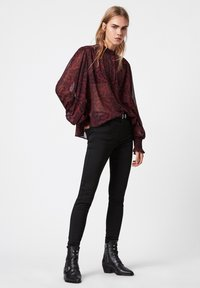 AllSaints - LEONIE STANZA SHIRT - Button-down blouse - red - 1