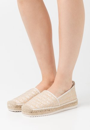 LENNY  - Espadrilky - natural/light cream