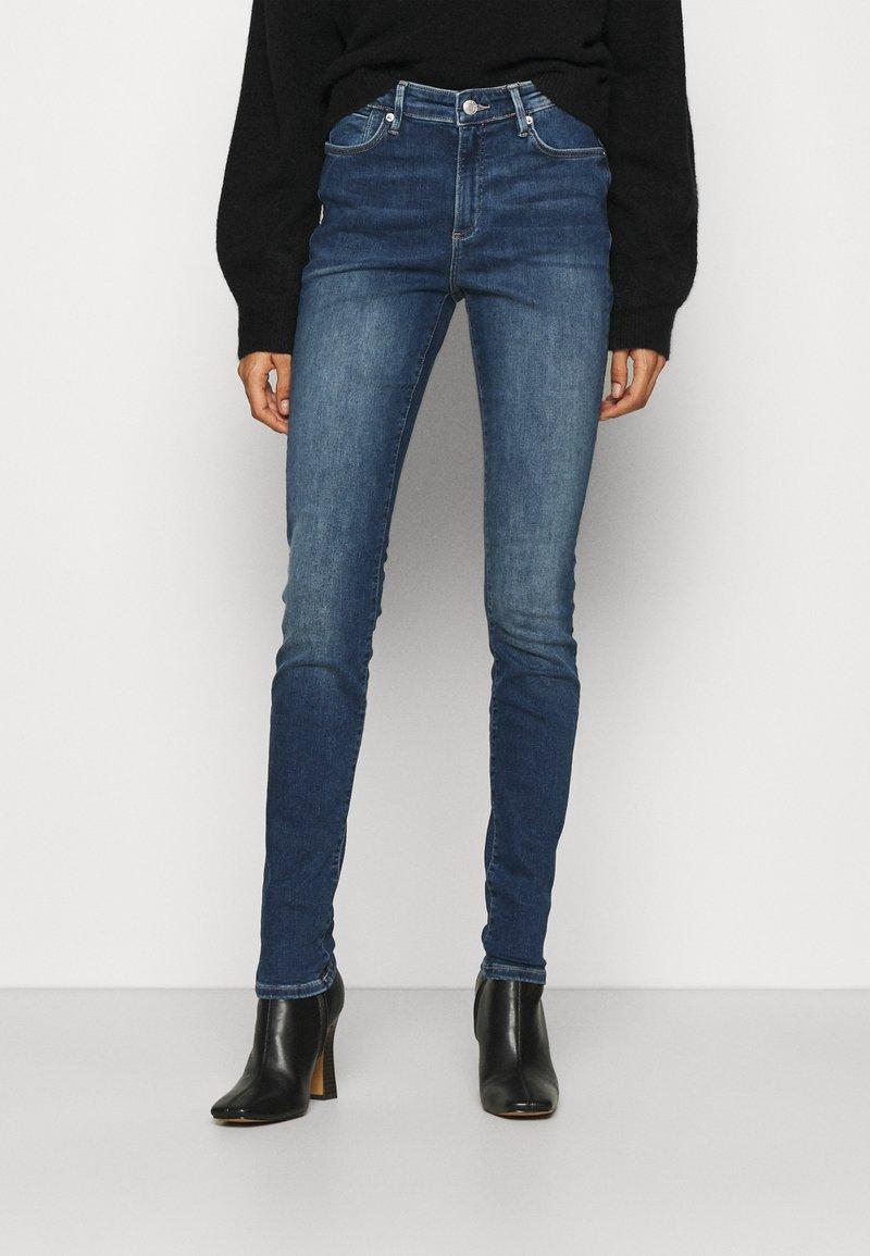 s.Oliver - LANG - Jeans Skinny Fit - blue
