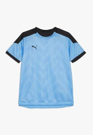 GRAPHIC - Print T-shirt - luminous blue/black