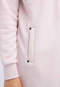 DreiMaster - Zip-up hoodie - powder pink melange - 3