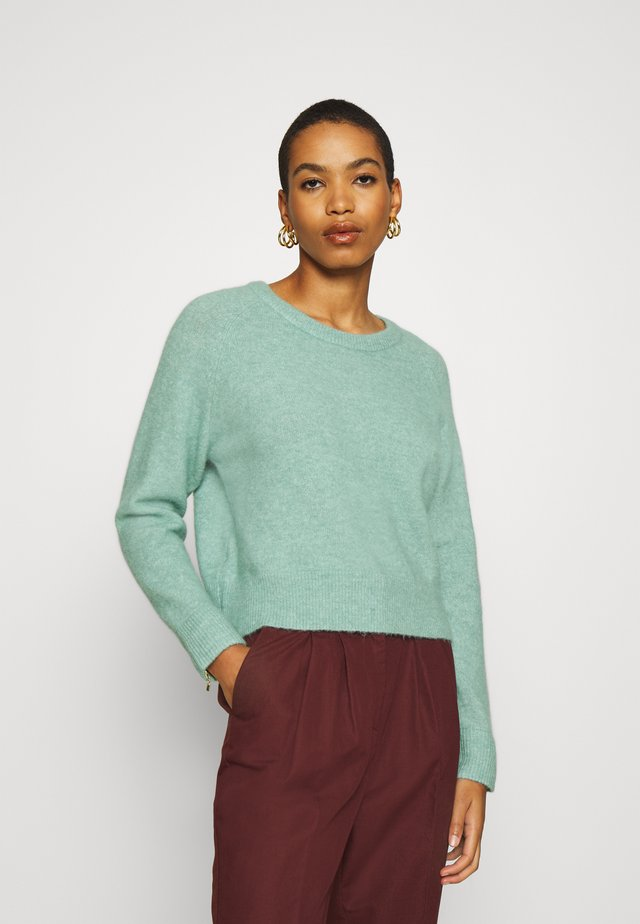 Pullover - oil blue