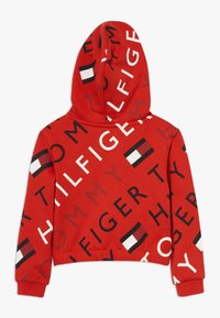 Tommy Hilfiger - SPORTS PRINTED LOGO HOODIE - Hoodie - red - 1