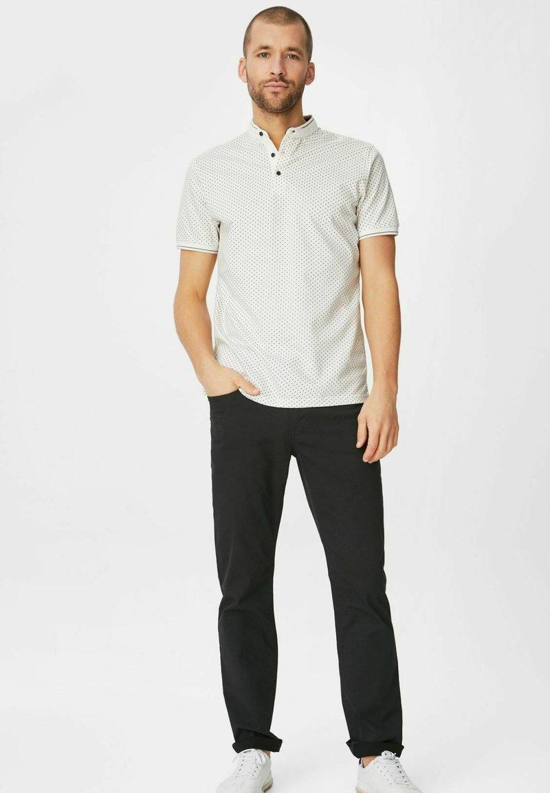 C&A Premium - Print T-shirt - off-white