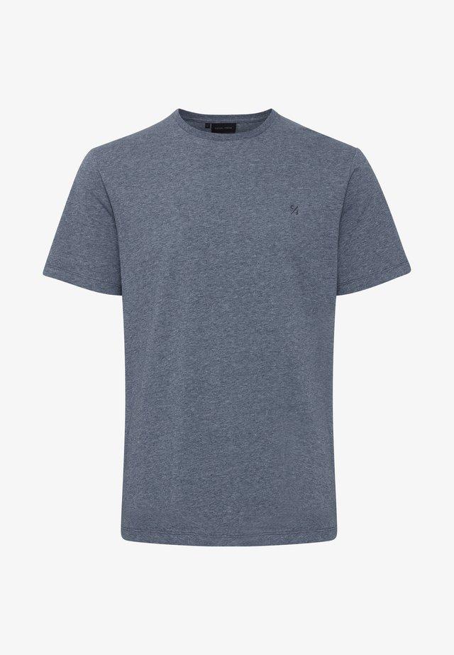THOR  - T-shirt basique - navy blazer melange