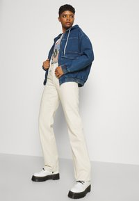BDG Urban Outfitters - HOODED SKATE JACKET - Jeansjakke - dark vintage - 3