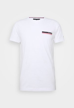 COOL SMALL TEE - Print T-shirt - white