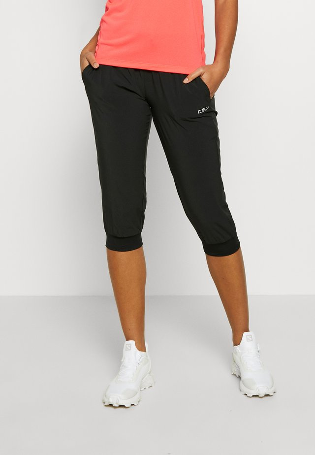 WOMAN PANT 3/4 - Pantalon 3/4 de sport - nero