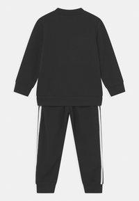 adidas Originals - CREW SET UNISEX - Survêtement - black/white - 1