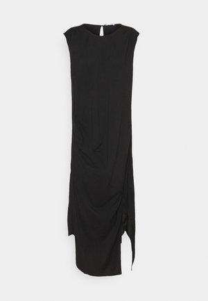 VALERIE SHOULDER DRESS - Vestido informal - black