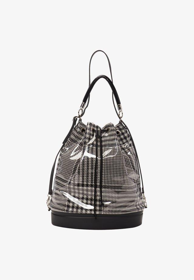 Tote bag - bianco/nero