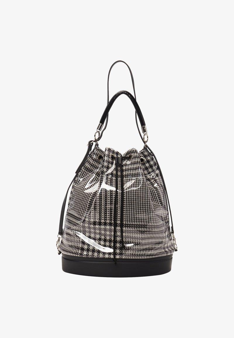 O Bag - Tote bag - bianco/nero