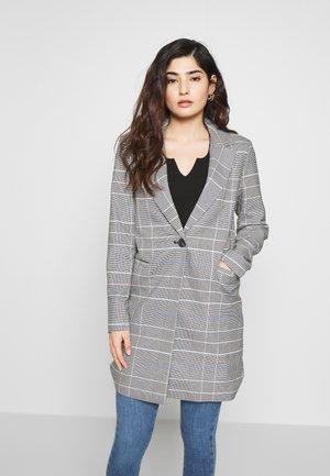 ONLSELENA CHECK SPRING COAT - Krátký kabát - blue
