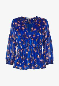 TOP WITH PIPING DETAILS - Blouse - combo