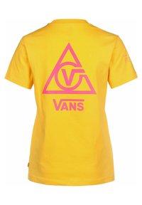 Vans - Print T-shirt - lemon chrome - 1