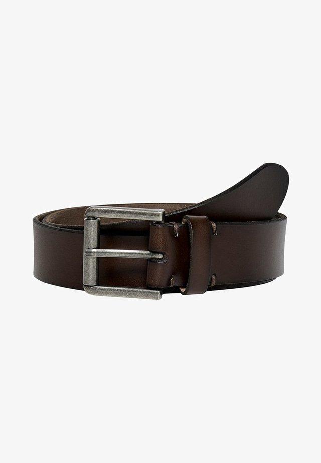 Belt - brown stone